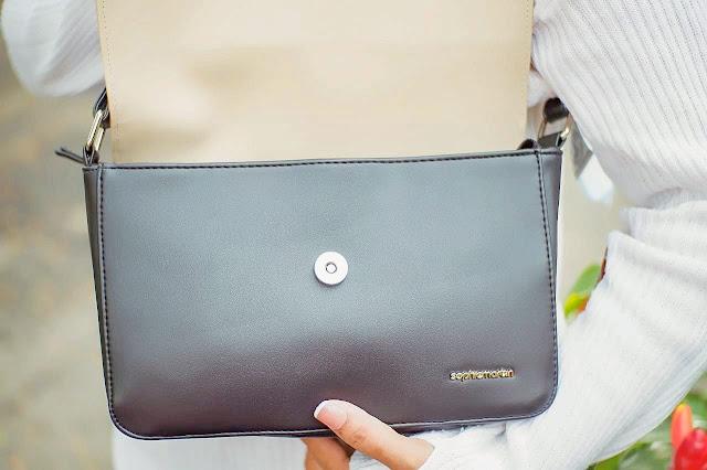 tas allen tas selempang sling bag dari kulit sintetis