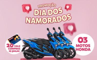 Cadastrar Promoção Andorinha Dia dos Namorados 2021 - 3 Motos e 20 Vale-Compras