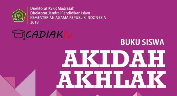 Buku Akidah Akhlak Kelas 9 MTs Kurikulum 2013 Revisi 2019 TERBARU PDF