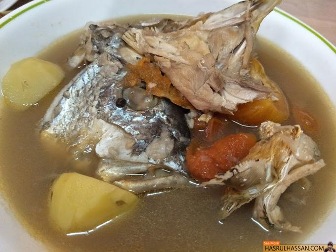 resepi  ikan mudah disukai Resepi Sup Ikan Dowry Enak dan Mudah