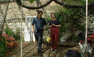 Monty Don and Liz