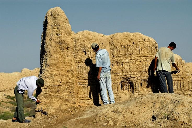 Excavaciones en Merv