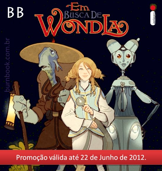 Promo: Em Busca de WondLa, de Tony DiTerlizzi. 20