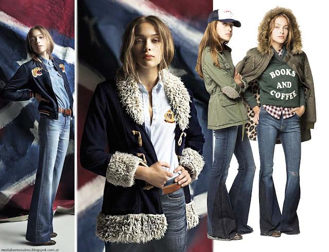 Moda invierno 2016 Mujer ropa Cook Jeans.