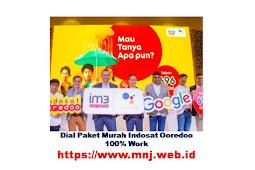 Dial Paket Internet Indosat Murah Terbaru 100% Work