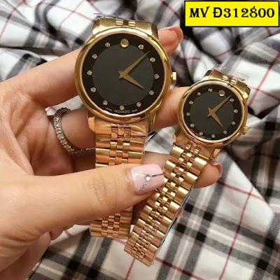 Đồng hồ đeo tay cặp đôi Movado MV Đ312800