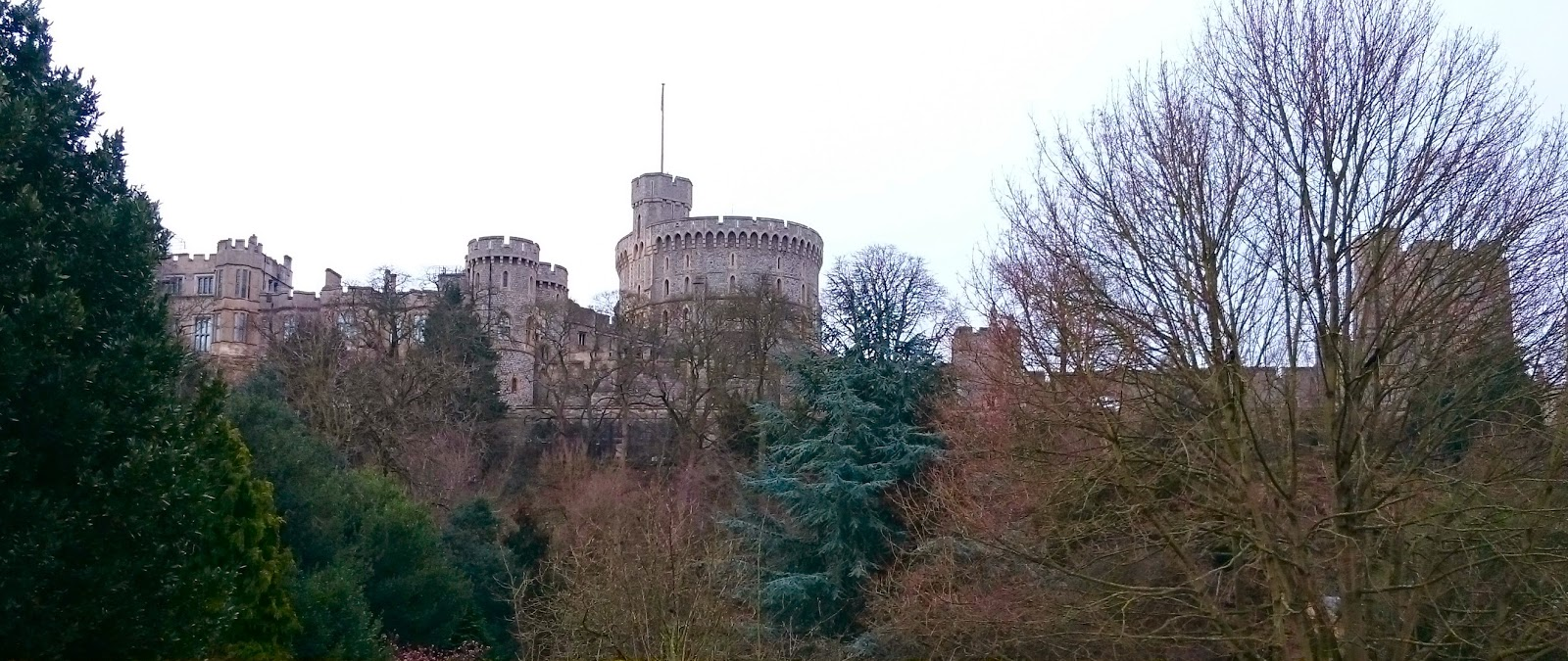 The skyline of Windsor Castle