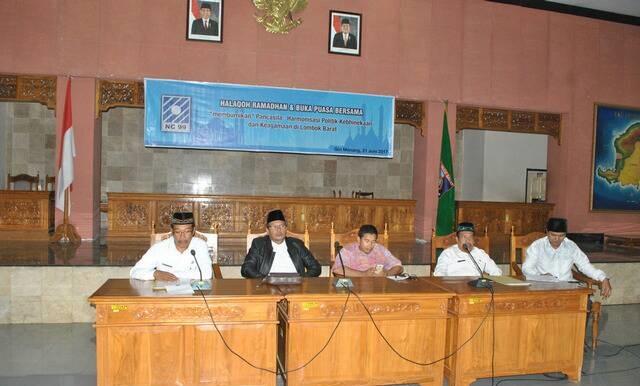 Dialog Membumikan Pancasila di Lobar