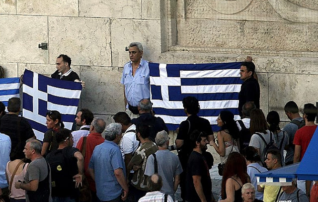 Tensions in Greece after the Greek parliament adopted the controversial pension reform