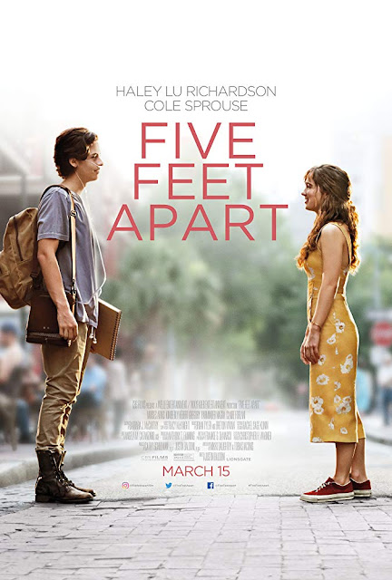 Movie poster for Lionsgate and CBS Films's latest romance film Five Feet Apart