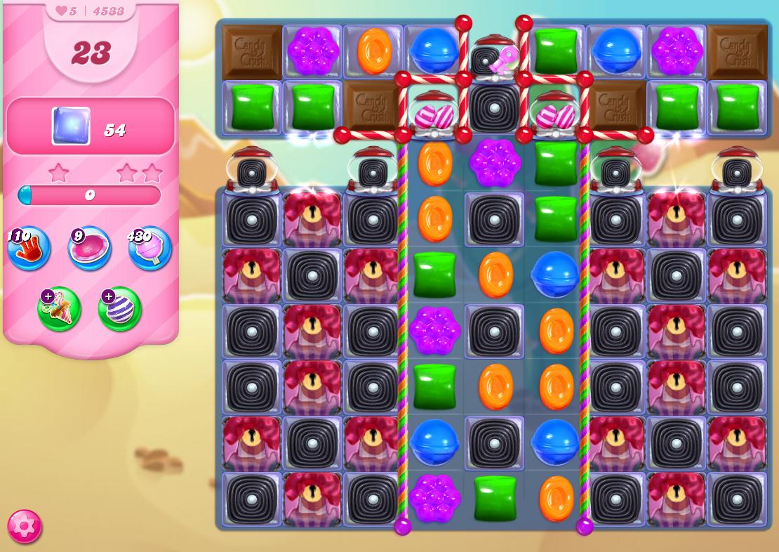 Candy Crush Saga level 4533