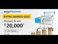 Amazon Business Extra Savings Quiz Answers 12-Feb-2021