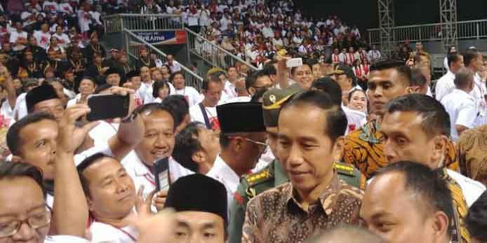 Jokowi Minta Projo Mulai Kampanye untuk Pilpres 2019