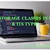 Storage Classes in C and it's types