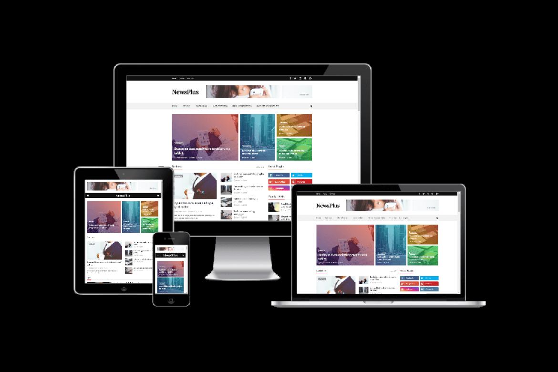 Newsplus Blog Magazine Premium Version Blogger Template
