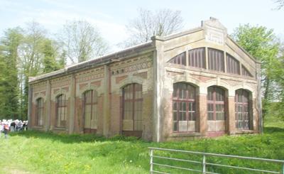 Filature Levavasseur sur l'Andelle - Fontaine-Guérard - La salle des machines