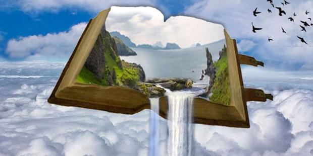Şelale, Kitap, Cennet