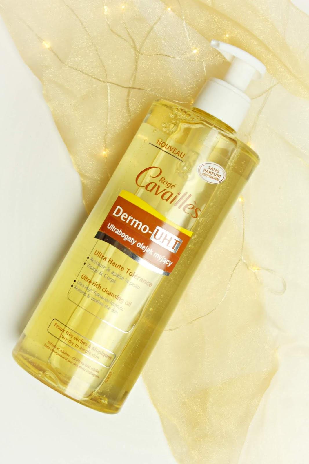 Olejek myjący Dermo-U.H.T roge cavailles