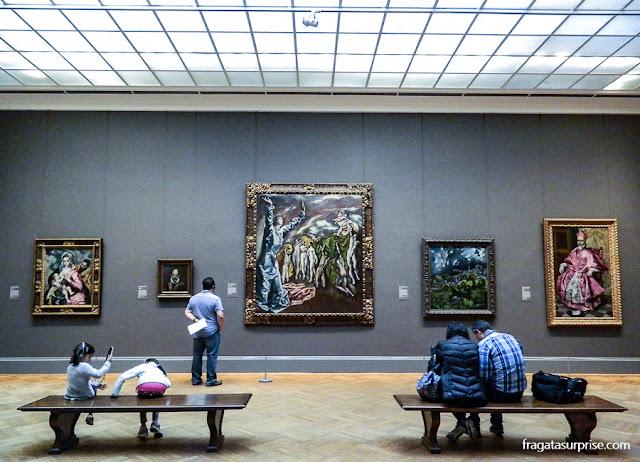 Quadros de El Greco no Museu Metropolitan de Nova York