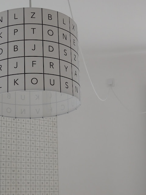 Lampa v dětském pokoji