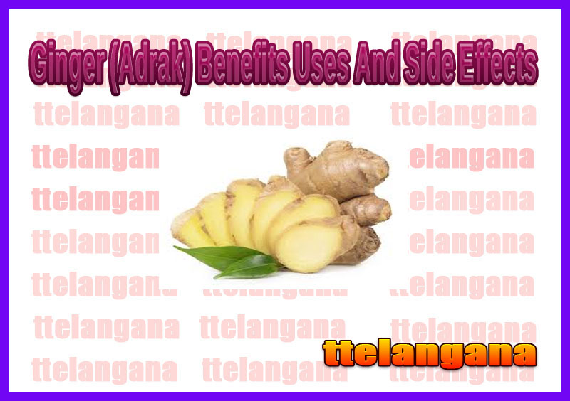 Ginger (Adrak) Benefits Uses And Side Effects