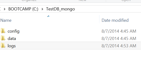 files stored in mongodb