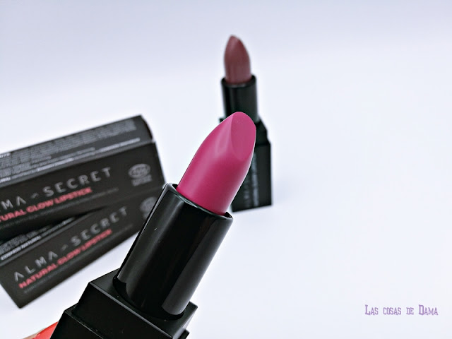 Natural Glow Lipstick alma secret cosmética natural ecocert ecológico makeup beauty
