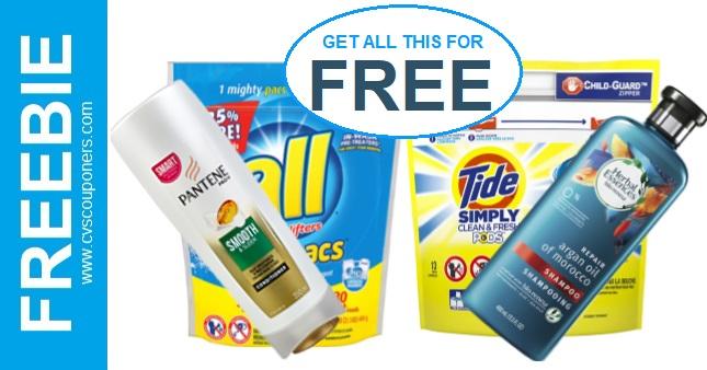 FREE Tide, All, Pantene & Herbal CVS Deal - 4/28-5/4