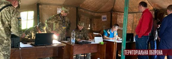 111-та бригада ТрО проводить командно-штабні навчання