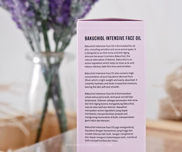 Review Indoganic Bakuchiol Intensive Face Oil