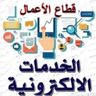 الخدمات الإلكترونية - قطاع الاعمال