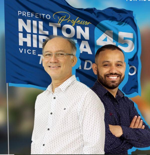 Nilton Hirota é eleito prefeito de Registro-SP com 10.240 votos