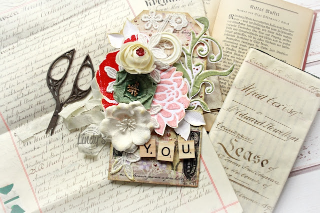 Embossed Paper Embellishments Tutorial