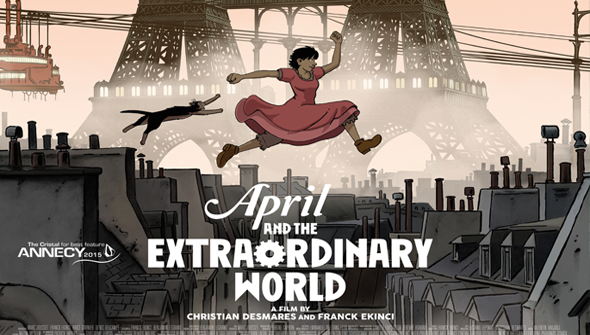 April Và Thế Giới Lạ Thường