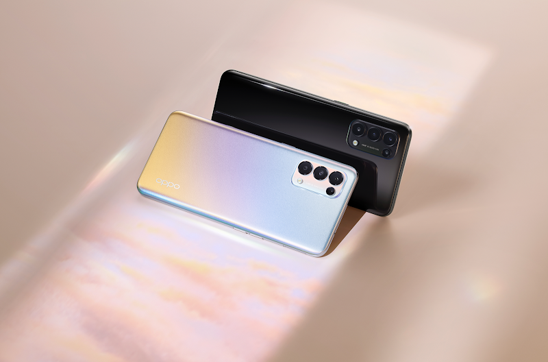 Picture Life Together with the new OPPO Reno5