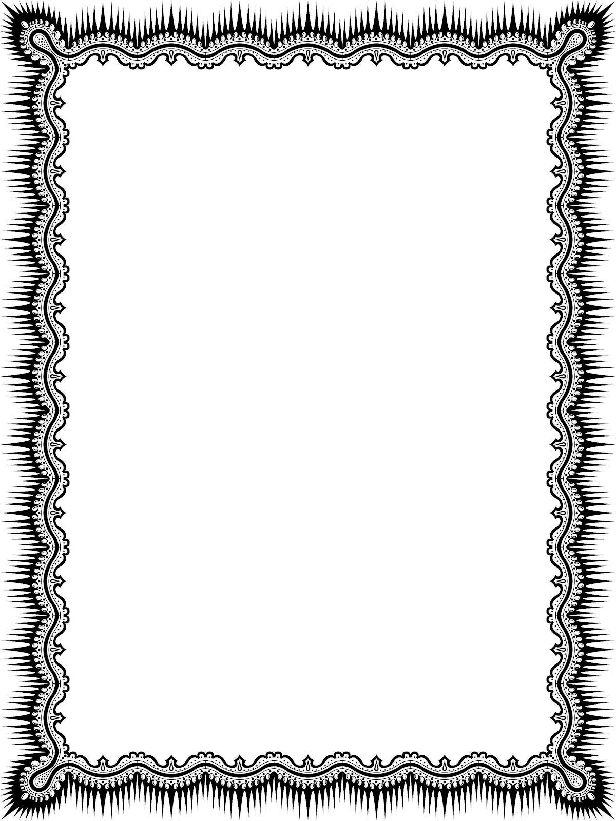 bingkai border piagam vector 5 banua sablon banua sablon