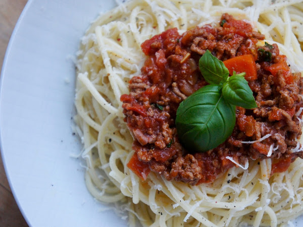 REZEPT: selbstgemachte Bolognese glutenfrei