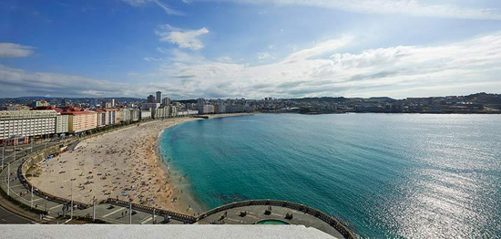 buongiorno A Coruña - Albergo Meliá María Pita