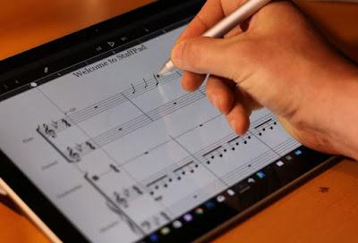 تطبيق StaffPad لتدوين النوتات الموسيقية دون جهد بخط يدك