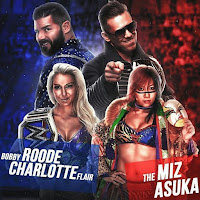 WWE Mixed Match Challenge Finals (4/03): Asuka & The Miz vs. Charlotte & Bobby Roode