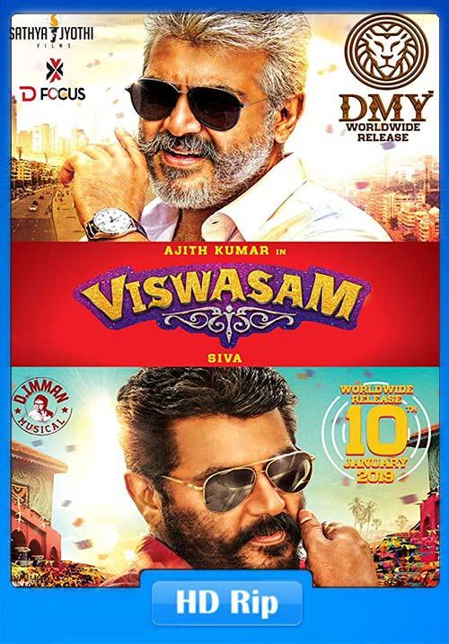 Viswasam 2019 Tamil 720p HDRip x264 | 480p 300MB | 100MB HEVC