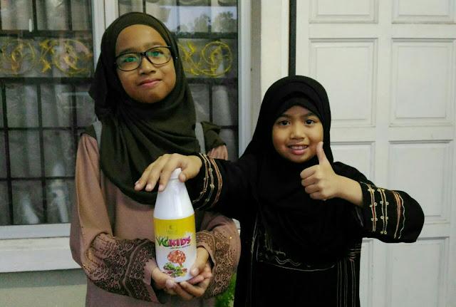 VG Kids, Jus Sayur, Taufiq Formula,
