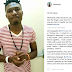 #BBNaija: Based on Logistics,  Efe addresses Issue of unfollowing fans on IG, Says he will be at AY-Live Show on Sunday (VIDEOS)