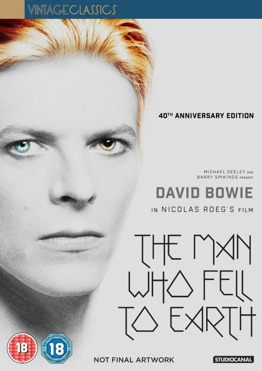 The Man Who Fell To Earth Book Home Release