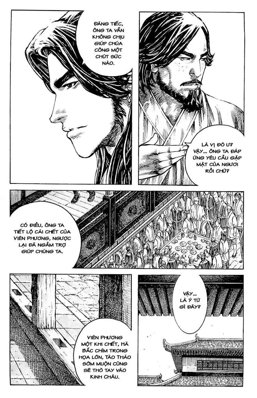 Hỏa phụng liêu nguyên Chương 355: Kinh Châu vi long [Remake] trang 9
