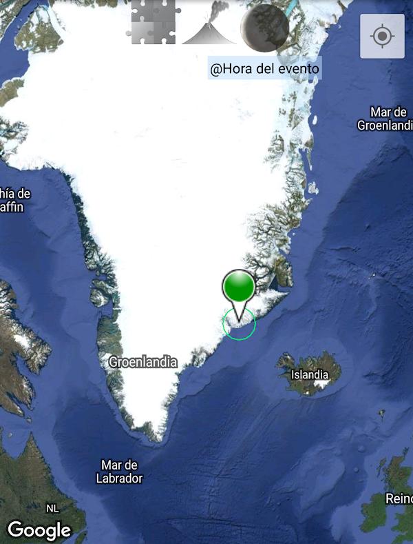 ULTIMA HORA: sismo atipico sacude groenlandia.