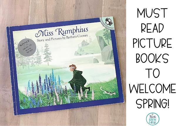 free miss rumphius activities for kids