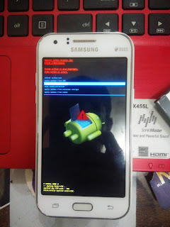 Hard reset Samsung Galaxy J1 (SM-J100H)