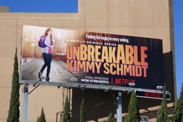 Unbreakable Kimmy Schmidt final episodes billboard