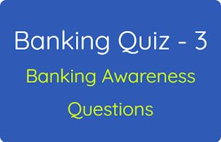 Banking Quiz - 3